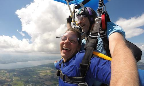 Positive Effects Of Skydiving On The Body