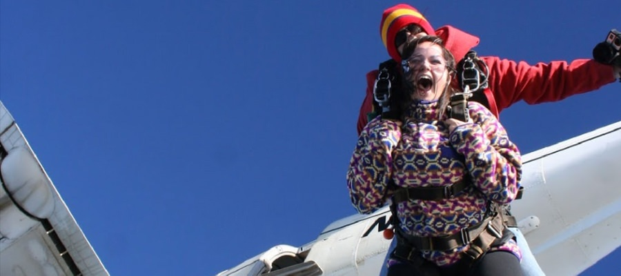 Does Skydiving Feel Like a Roller Coaster?