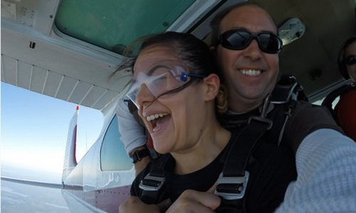 The Role You Play On Your First Skydive