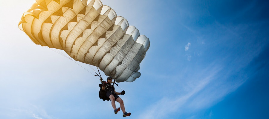 How Many Parachutes Does a Skydiver Have?