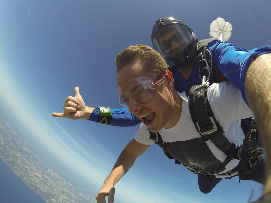 Tandem Skydiving Pictures & Video